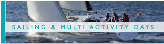 Sailing and Multi Activity Days